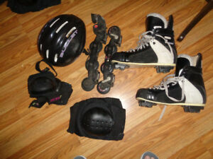 Mens size 11 CCM 355 Tacks Rollerblades