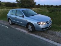 NISSAN ALMERA 2.2 DIESEL PRICE REDUCED GREAT CONDITION WITH SERVICE HISTORY