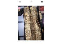 Stunning Black And Gold Designer Sari Lengha Shalwar Kameez Brand New Size 14-16
