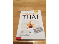Teach yourself - complete Thai (almost brand new)