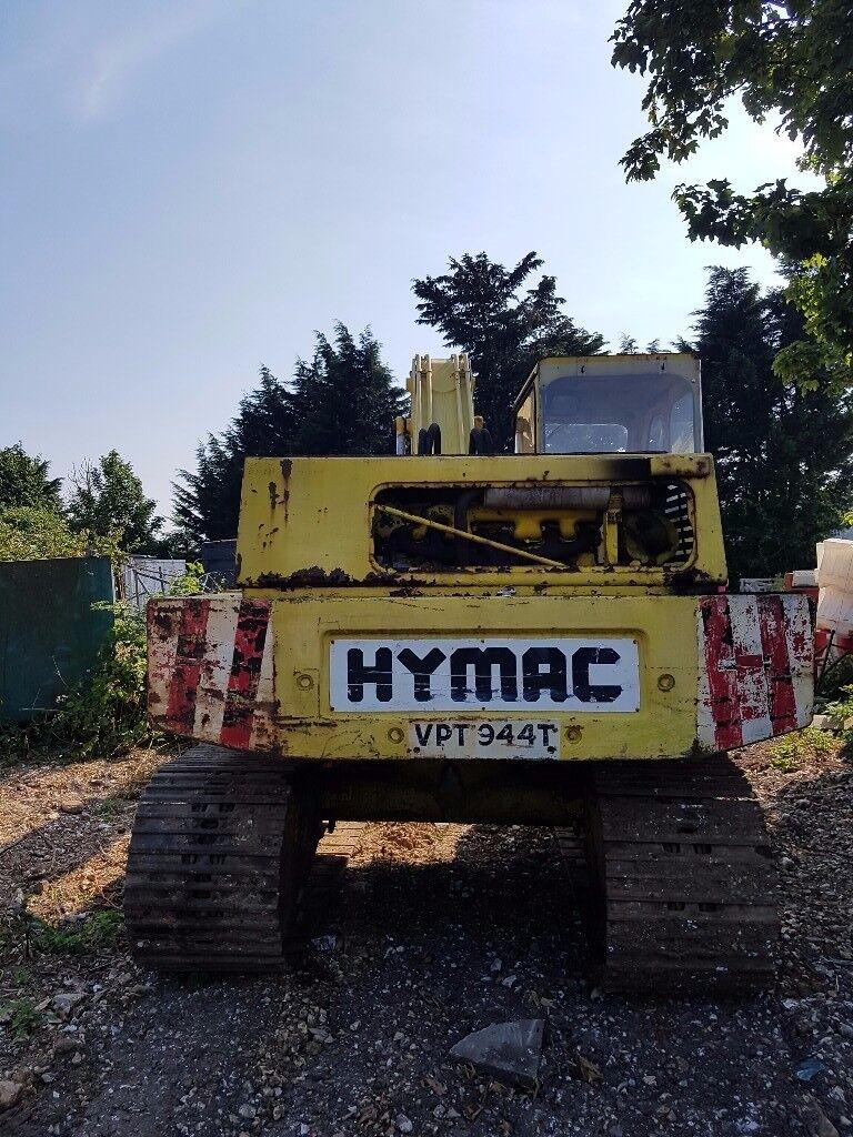 HYMAC 580c Excavater/Digger - NOT JCB or Komatsu - Ideal farm or self build