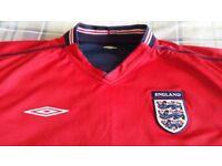 England Top. * Umbro* 2002-2003 Season