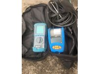 Flu gas analyser/ Kane 455 / including printer and calibration certificate till November