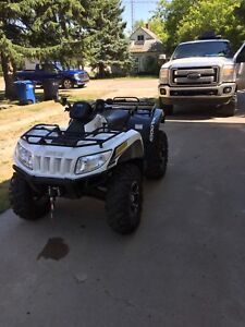 2013 arctic cat 1000xt LOW KM