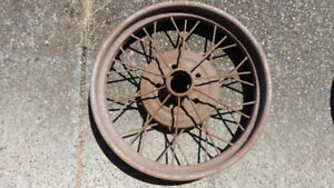 1928 Ford Model A Rims