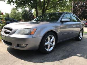 2007 Hyundai Sonata Leather/Sunroof/1 Owner/No AccidentCertified