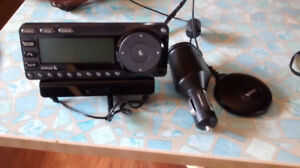 Sirius radios and router