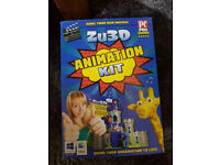 ZU 3D Animation Kit. Create Films About Anything & Everything. Great Fun for Kids. £10