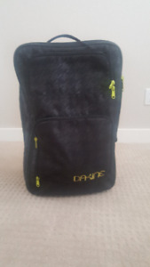 Burton Black OverUnder Carry on Bag