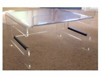 FANTASTIC PERSPEX MONITOR/LAPTOP STAND