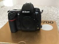 Digital Nikon D700 camera excellent condition comes with battery,straps,leds, as seen in picture.