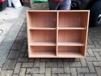 2 kitchen wall cupboard carcasses