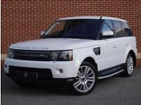2011 61 Land Rover Range Rover Sport 3.0 SD V6 HSE (Luxury Pack) (White, Diesel)