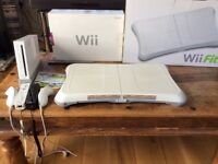 Nintendo Wii, Wii sports and Wii Fit Board