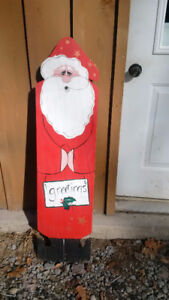 REDUCED - Hand Painted Santa