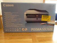 Office Printer - Canon PIXMA MX7600 Multi Function Printer (Printer, Fax, Scanner, Copy)