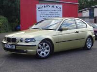 2002 BMW 316 1.8 ti SE Compact - 109K - FSH - 12 MONTHS MOT