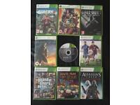 X Box 360 Games (9) £45 for all. Collection Only.