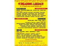 Leeds festival Saturday ticket x1