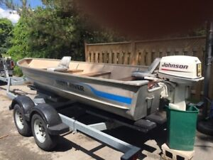 16 Ft. Misty River Aluminum Fishing Boat