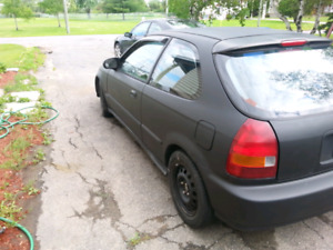 Civic ek swap B16b type r du japon LSD tranmission lsd 5 vitesse
