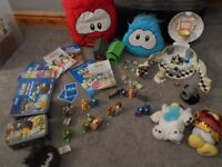 Club Penguin Books and Toys