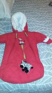 0-6 month Kushies Kids Snow Suit