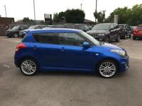 2013 Suzuki Swift 1.6 Sport 5dr Petrol blue Manual