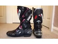 SIDI motorcycle boots Ladies
