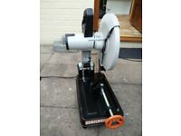 Brand new Evolution Rage2 2000w 240v 355mm chop saw