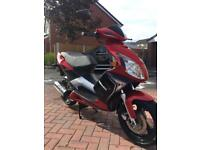 125cc scooter sinnis eagle