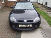 Spares or repairs MG tf good condition, mot till apr18 , cam belt done , clutch starting to slip