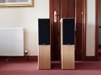 MISSION FLOOR STANDING HIFI SPEAKERS - AS NEW CONDITION