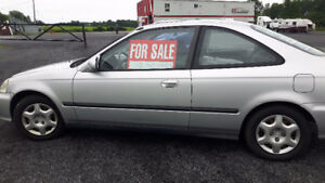 1999 Honda Civic Coupe (2 door)  Real Gem