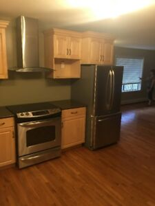 For rent main floor in 3 bedroom house that is 4 years old
