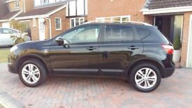 Nissan Qashqui n-tec, Immaculate, 1 lady owner from new, FSH, 12 months mot