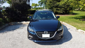 2014 Mazda3 Sport GS Hatchback w/ Roof Rack
