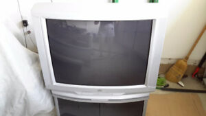 JVC Television with Stand