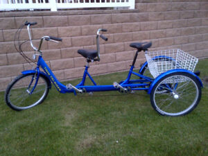 2 Person - Tandem Trike with 6-speed