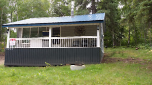 LOCATION!  MAREAN LAKE CABIN WITH TWO TITLED LOTS