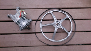 Kenmore washing machine motor, belt and pulley