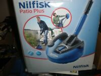 Patio brush cleaner Nilfisk Patio Plus New with extra brush
