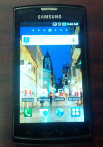 SAMSUNG GALAXY S CAPTIVATE I896 16GB CELL PHONE FOR SALE