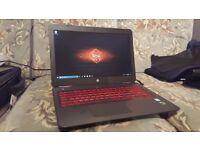HP Omen 15 i7 7700HQ 8GB GTX 1050ti SSD+HDD fast gaming laptop