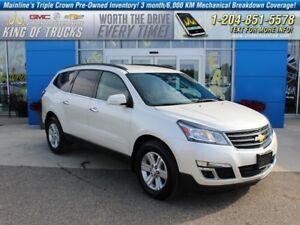 2014 Chevrolet Traverse 1LT | AWD | DVD  - Bluetooth - $227.88 B