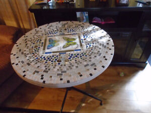 HANDCRAFTED TILED TABLE