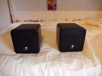 cube speakers 80w 8ohm