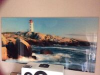 Picture glass large really clear of the sea ocean selling cheap bargin