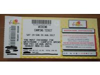 V Festival Tickets - Weekend Camping - Weston Park