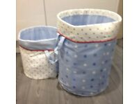 NEXT nursery storage baskets